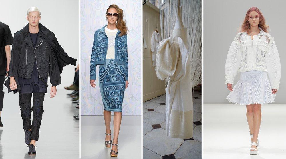 Snapshot of RCA Fashion Alumni Featured in SIXTEEN Exhibition