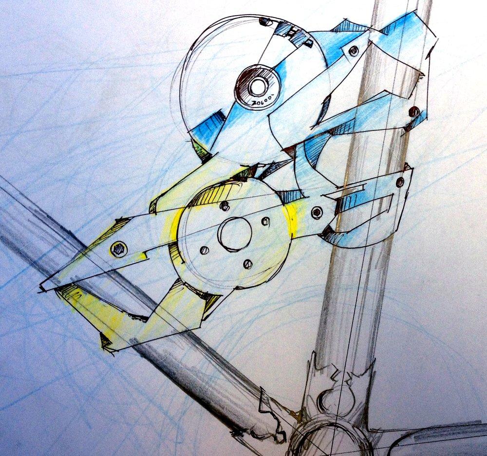 Nylon SLS concept sketches