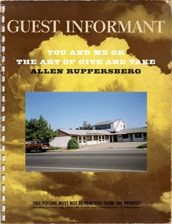 Cover: Allen Ruppersberg, You and Me or the Art of Give and Take, JRP/Ringier