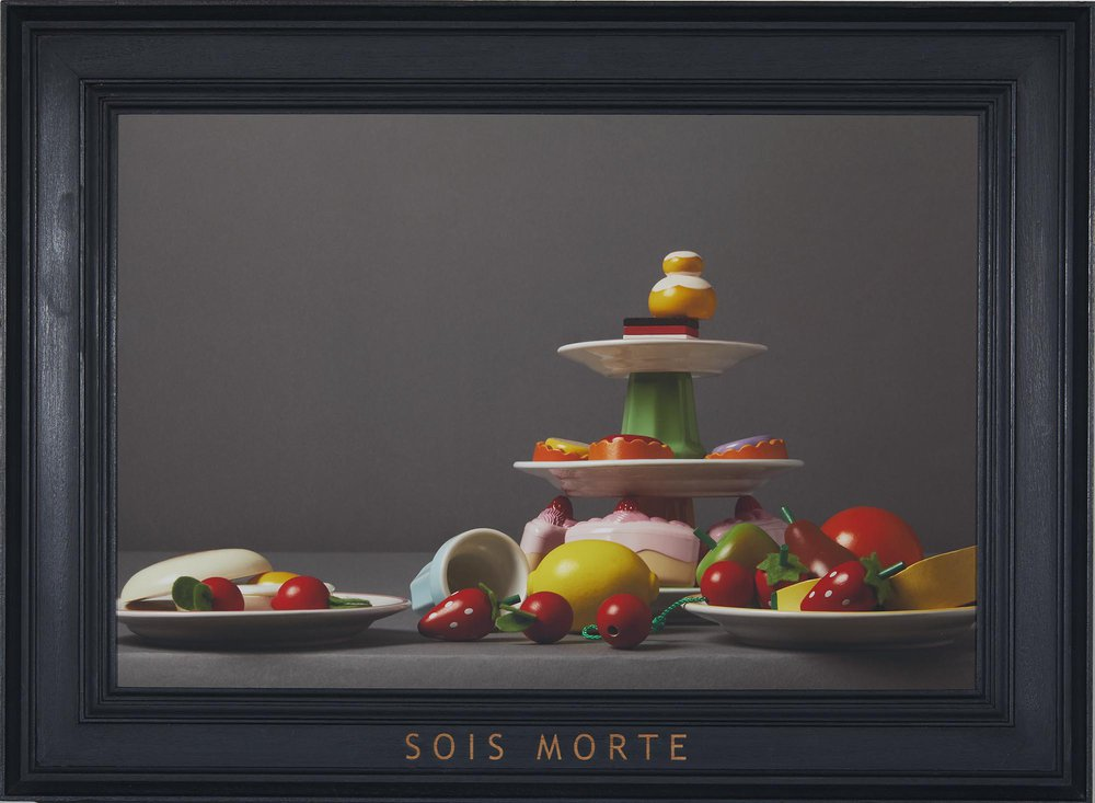 Equivoque: nature morte/still life (dyptich)
