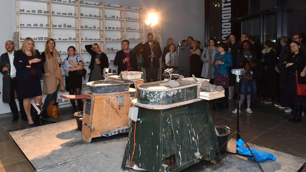 Pot Throwing Workshops Launch StudioRCA at Riverlight, Nine Elms