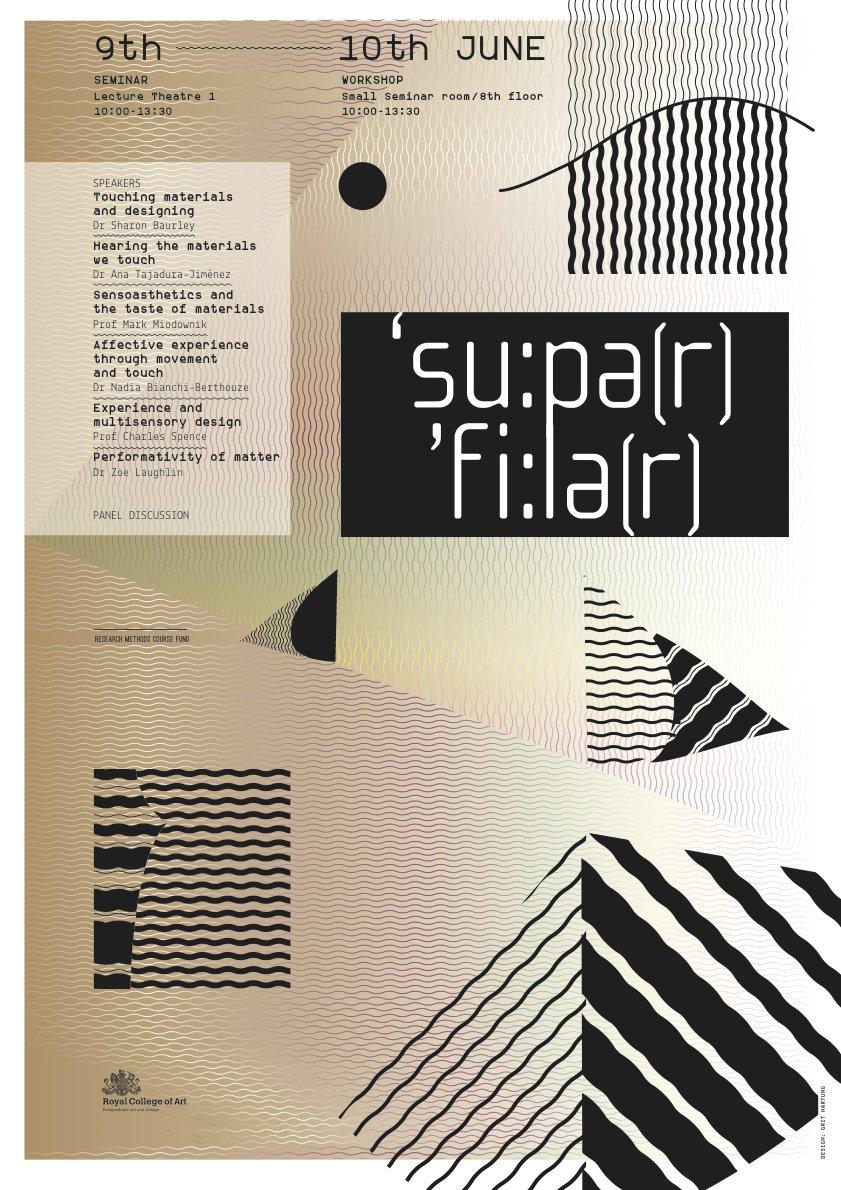 Super Feelers seminar poster.