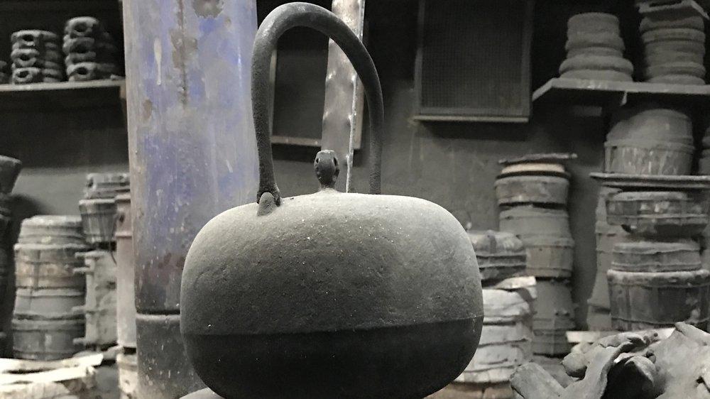 Tetsubin kettle