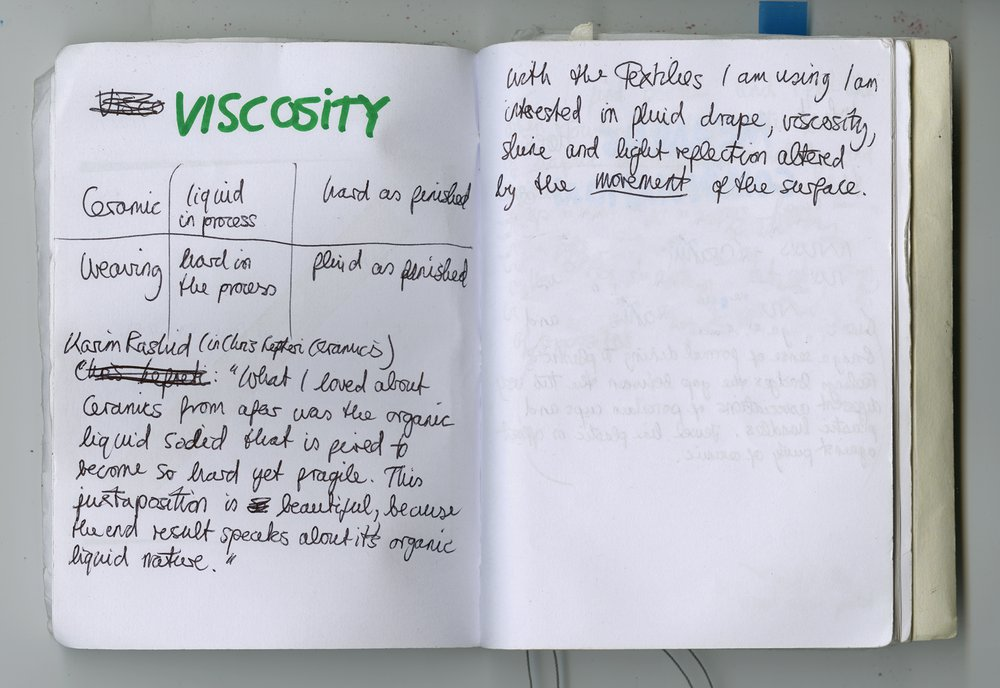 Reflections on viscosity in different processes