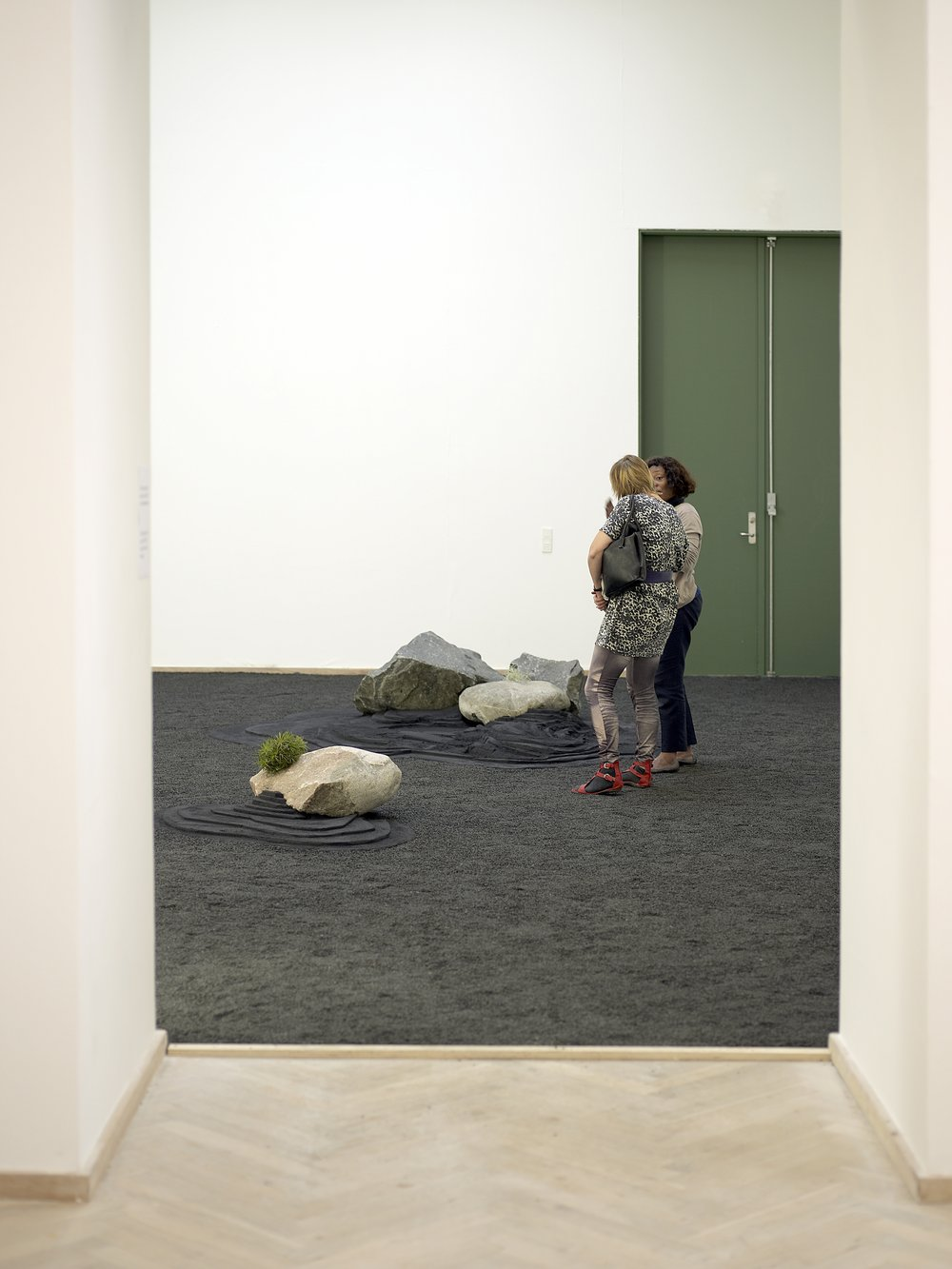 Make Yourself at Home, installation view, Taste of a Stone by Otobong Nkanga, Kunsthal Charlottenborg, 2010.