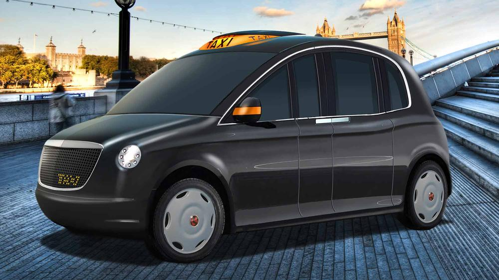 Taxi render