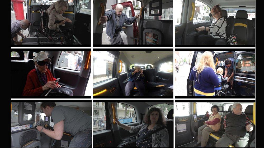 Future London Taxi  – Taxi Passengers