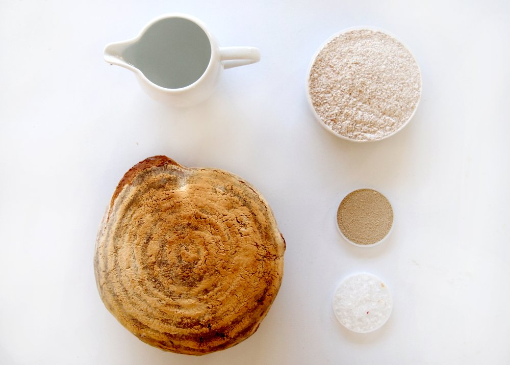 The Bread Companion - basic ingredients