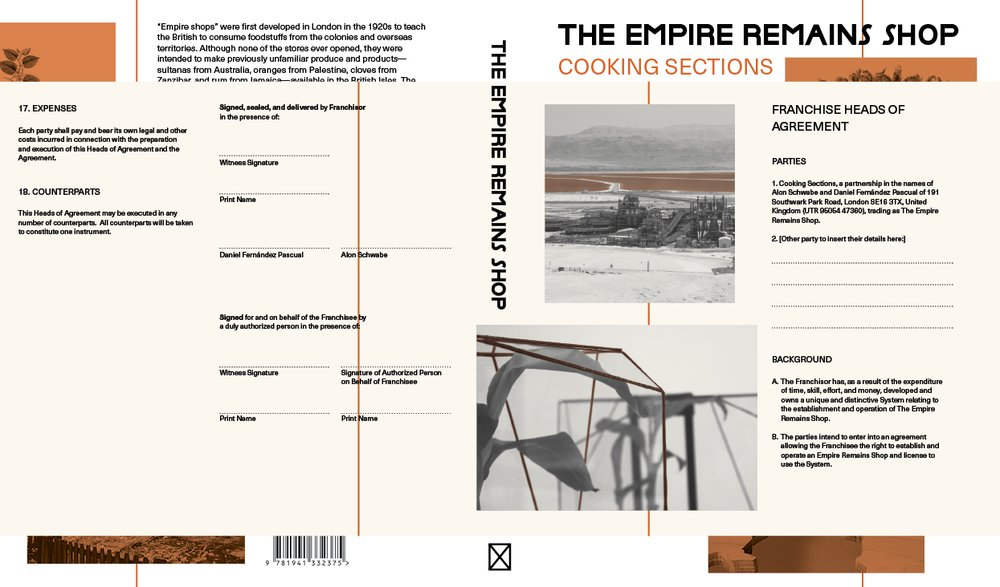 The Empire Remains Shop book