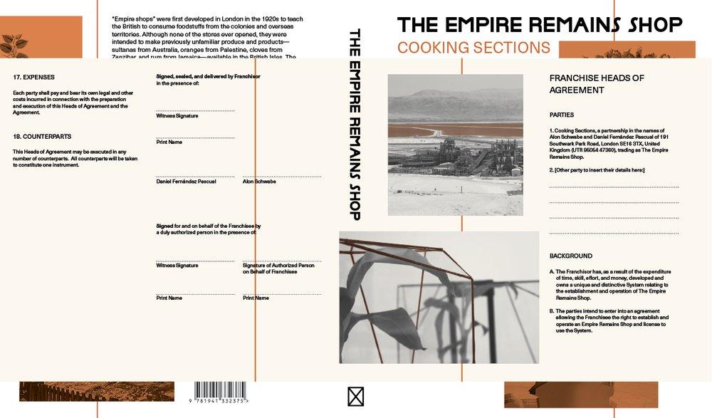The Empire Remains Shop book