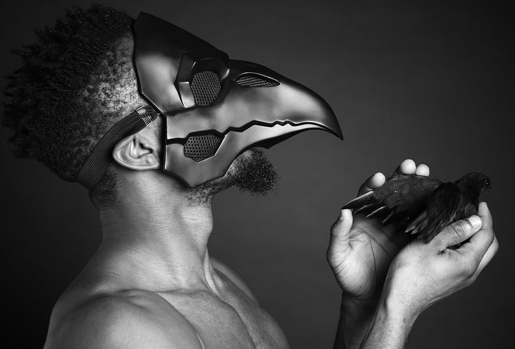 The Healer of Crows (Photo) by Ajamu X