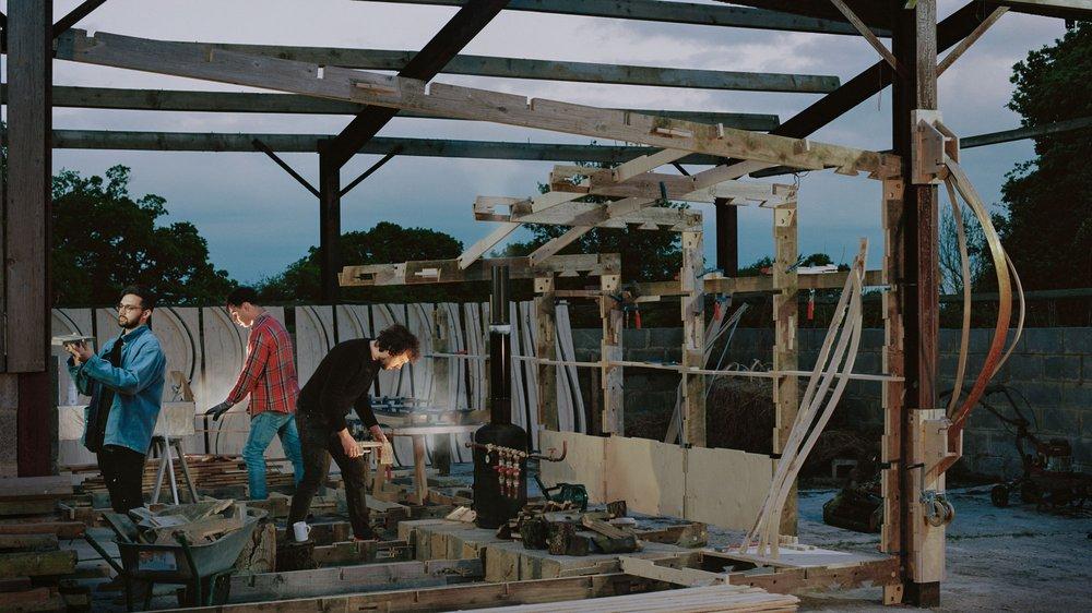 ADS6, Reimagining Ambridge: Construction of the Hovel