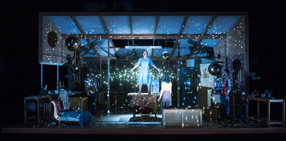 The Virtues of Things, an opera performed in 2015 at the Royal Opera House, London, Aldeburgh Music and Opera North, Leeds