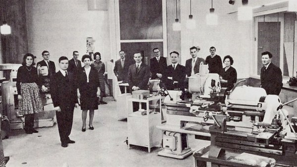 Design Research Department at the Royal College of Art, some time prior to 1965