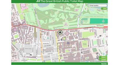The Great British Toilet Map