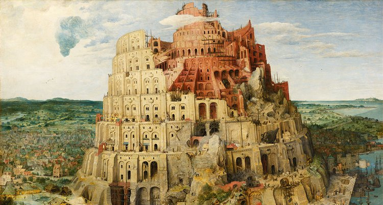 The Tower of Babel. Pieter Brueghel the Elder, 1563