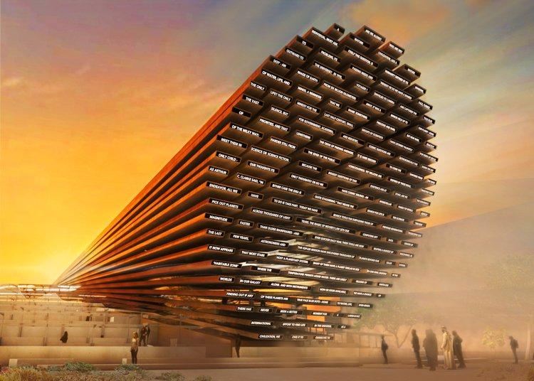 An image showing UK Pavilion for Expo 2020 Dubai