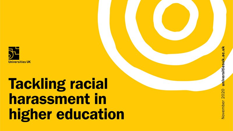 Tackling racial harassment in higher education