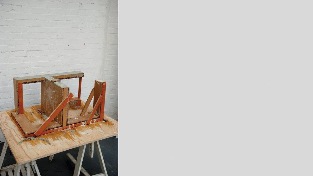 Sol Gerrit Chair, concrete mold