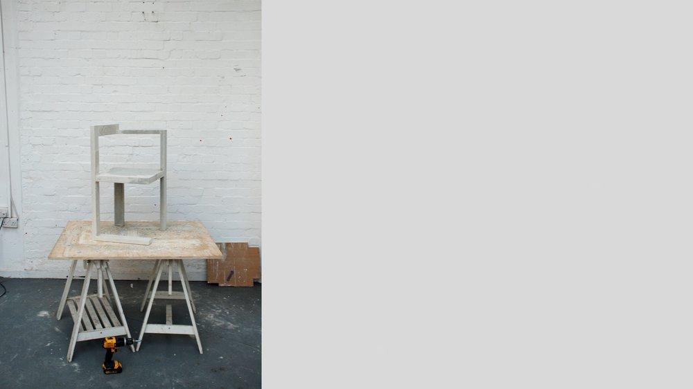 Sol Gerrit, concrete chair