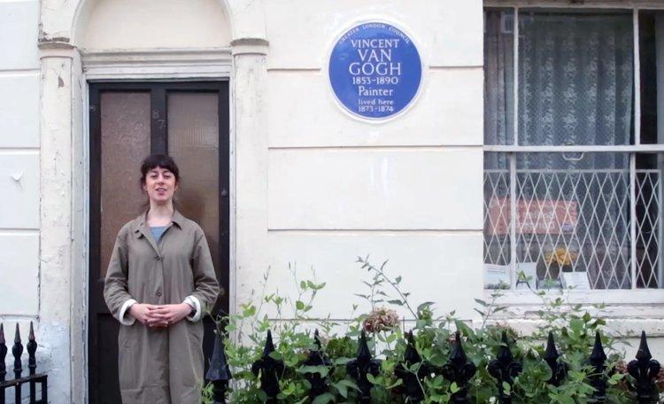 Livia Wang, Van Gogh House - A Guided Tour (ADS6, 2018)