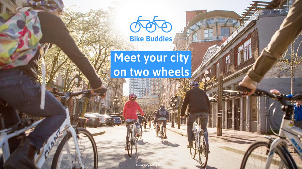 Bike Buddies - Meet your city on two wheels