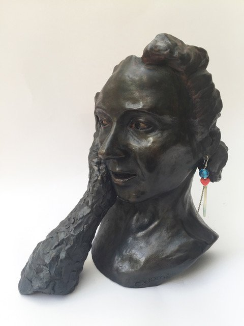 Vlad's Girl – A sculpture inspired by a desire to translate intangible emotion into physical form.