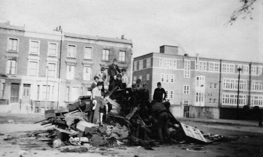Faraday Road, London, W10, 1962