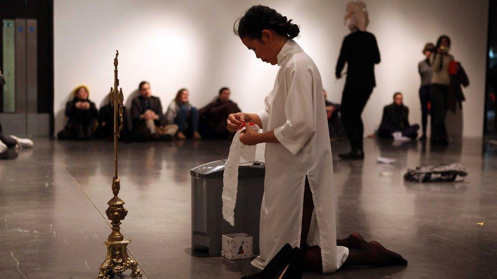 School of Fine Art Work-in-progress Show: Rhine Bernadino (Performance)