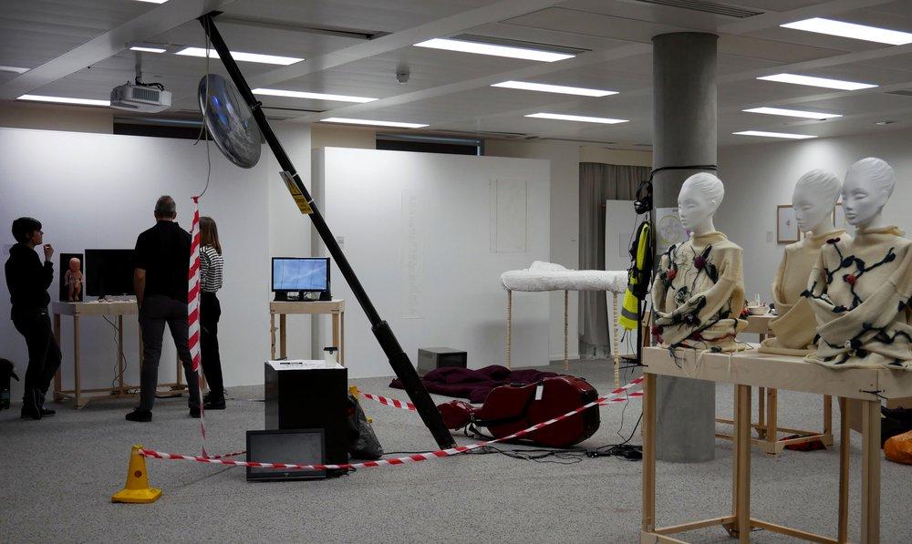 Communication Work-in-progress 2018: Information Experience Design, Derck Littel