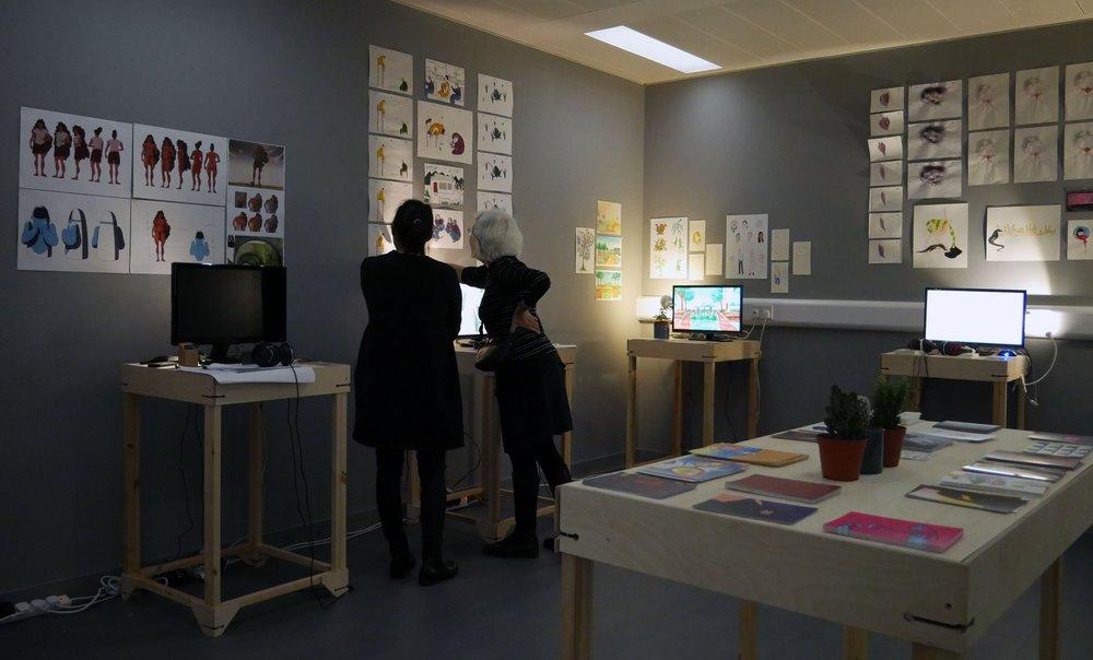 Communication Work-in-progress 2018: Animation