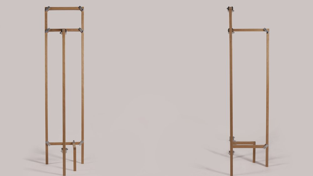 Isabel Alonso's flat-packed crafted furniture