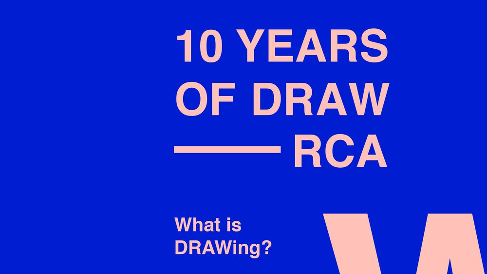 What is DRAWing?
