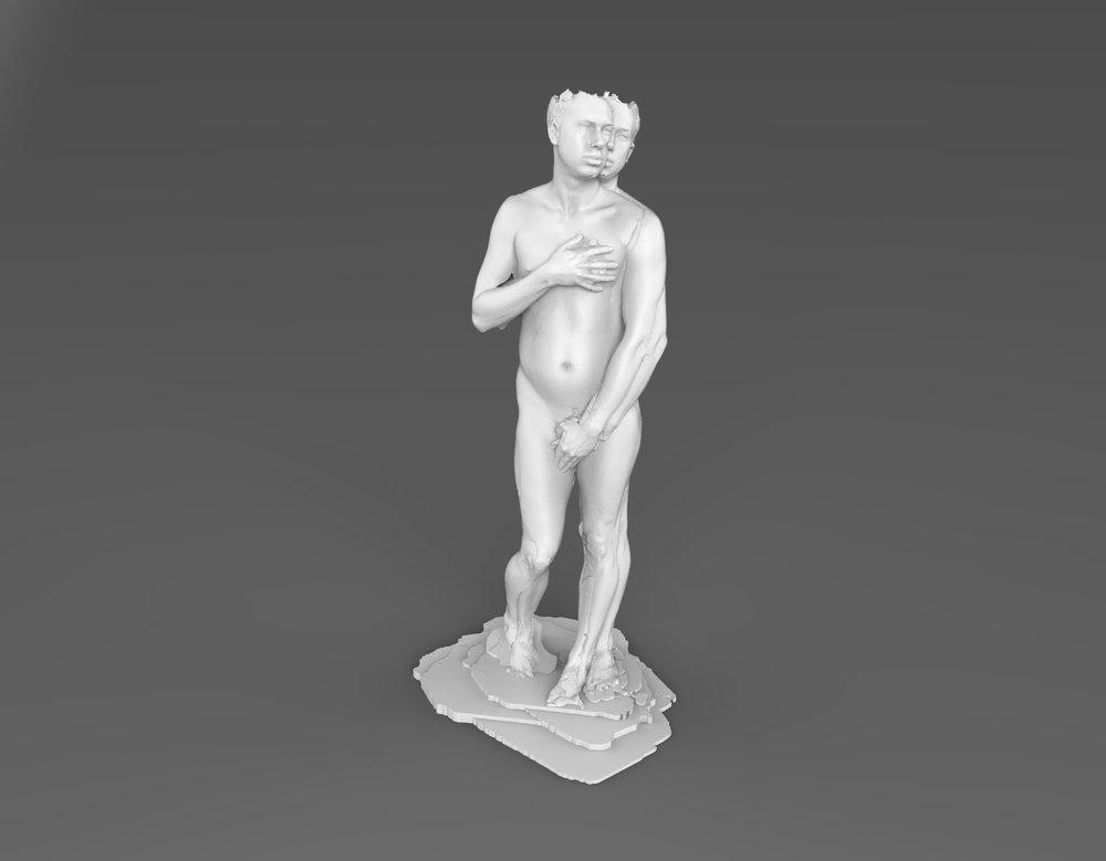Whispering to Venus (Self-portrait as Venus)