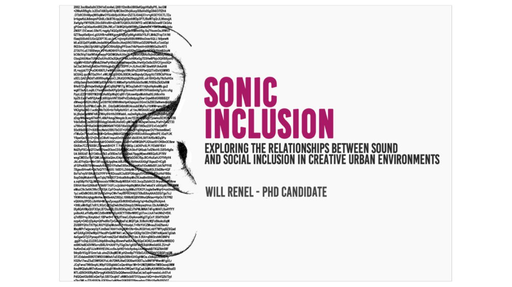 Sonic Inclusion: An exploration of sound