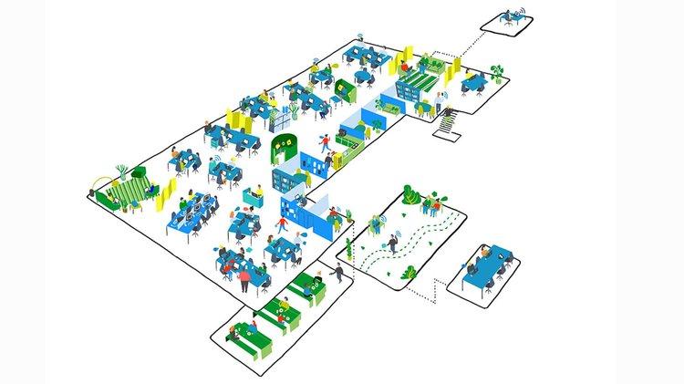 Plan of layout
