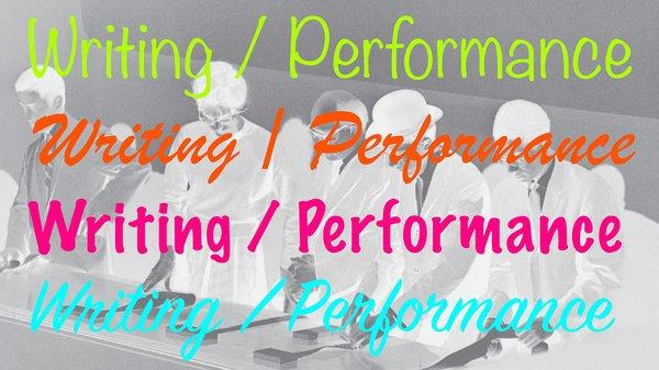 Writing/Performance