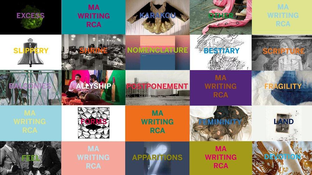 MA Writing 2020