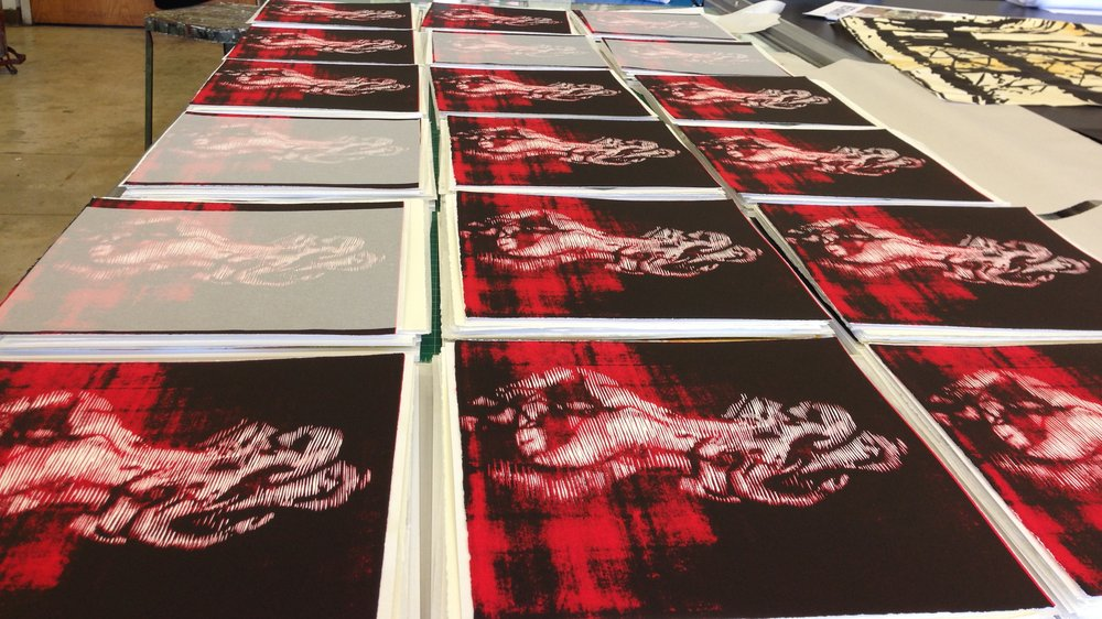 Wuon-Gean Ho's prints for Distortion box set
