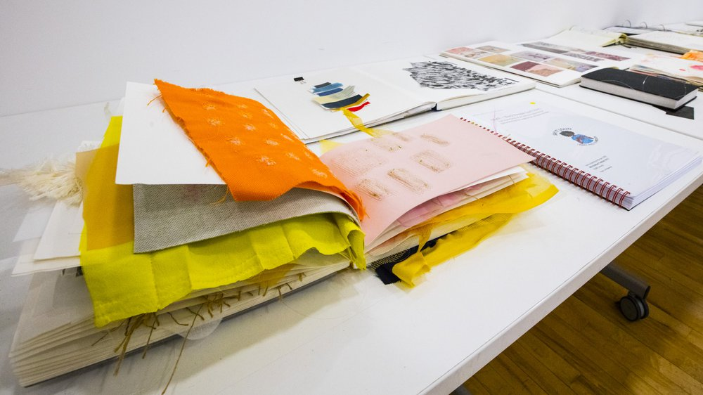 Design Work-in-progress 2018: Textiles
