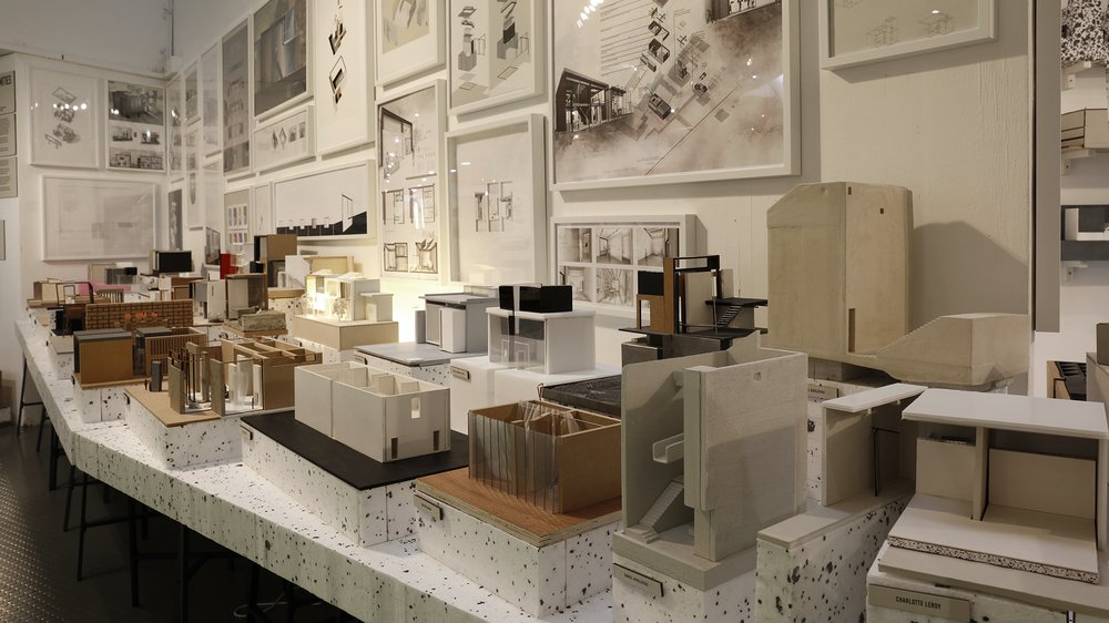 Work-in-progress Show 2017: School of Architecture, Interior Design, First Year Proximities project