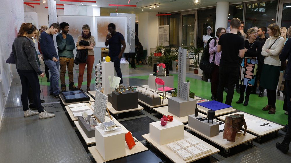 Work-in-progress Show 2017: School of Architecture, Architectural Design Studio 4: Characters