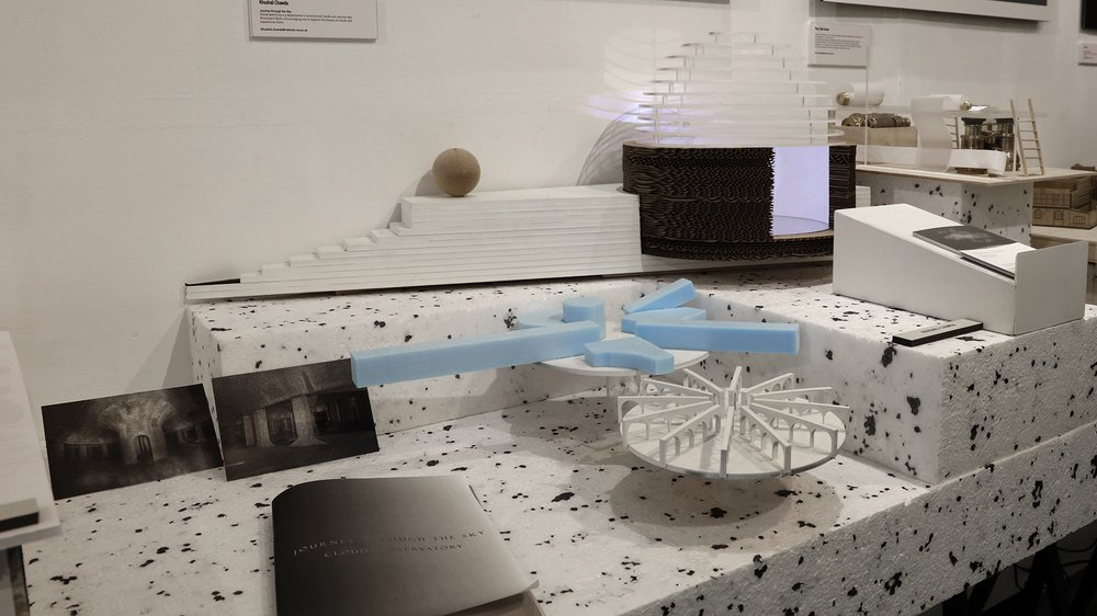 Work-in-progress Show 2017: School of Architecture, Interior Design, Interior Obsolescence, Khushali Chawda, Cloud Observatory