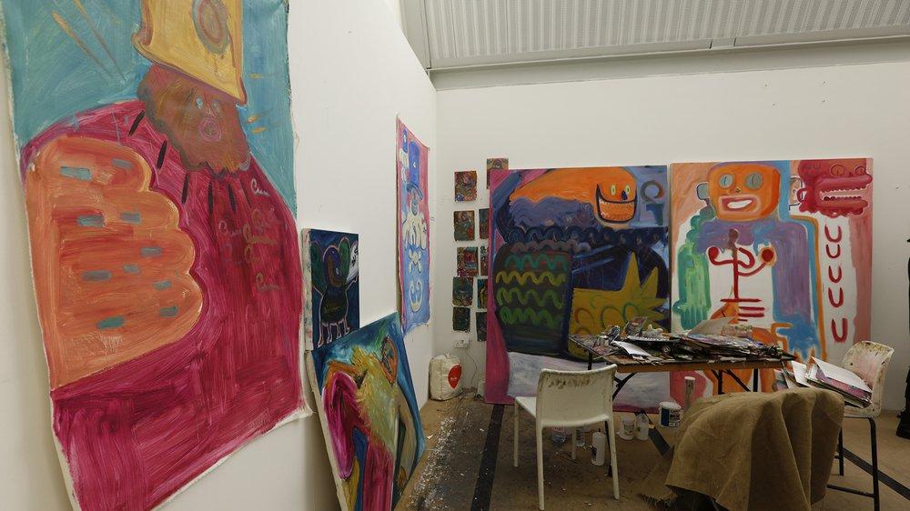 Work-in-progress Show 2017: School of Fine Art, Painting, Jan Agha