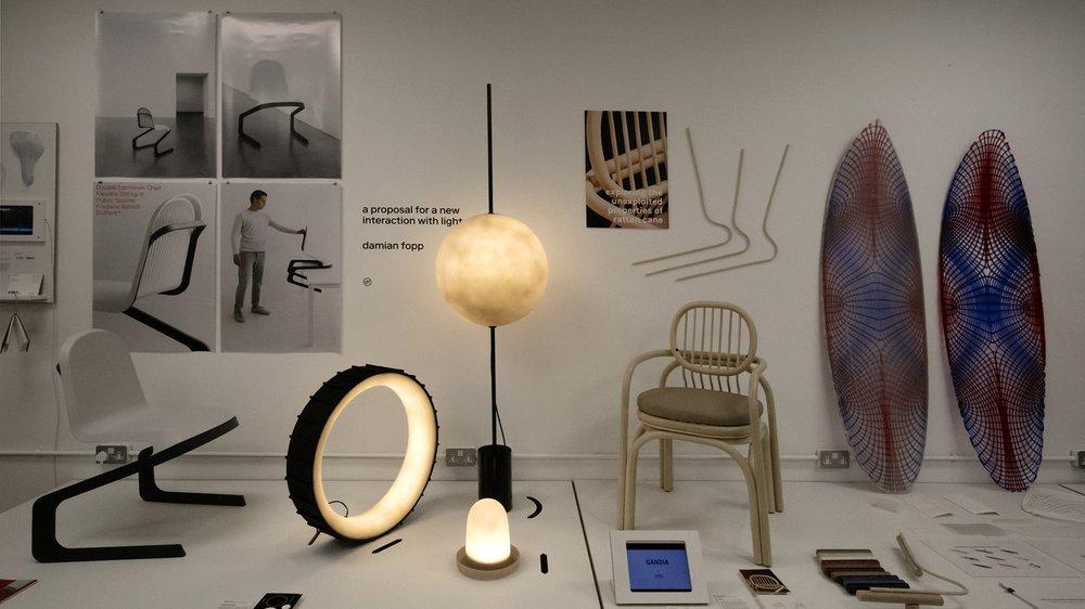 Show 2017: School of Design, Design Products, Frederic Rätsch, Damian Fopp, Andrea Mestre, Laurent Biernaert