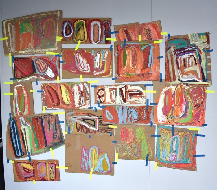 Assembled Lines exhibition