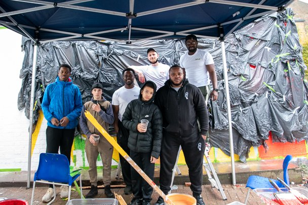 PoOR Collective Team, Photo: Nick Cornwall