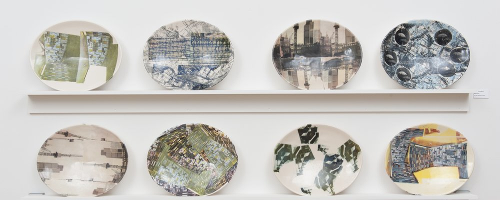 Set of Lost London Oval Plates