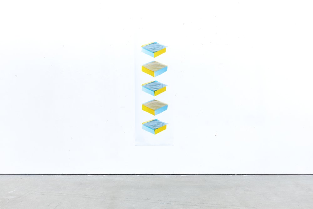 Column #1 (Blue on Yellow & Yellow on Blue 0618 - 0609)