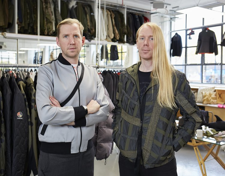 Christopher and Graeme Raeburn. Photo credit: Heiko Prigge